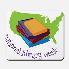 National Library Week Mousepad