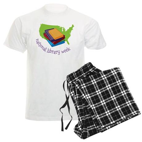 National Library Week Men's Light Pajamas