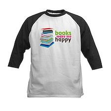 Books Make Me Happy Tee