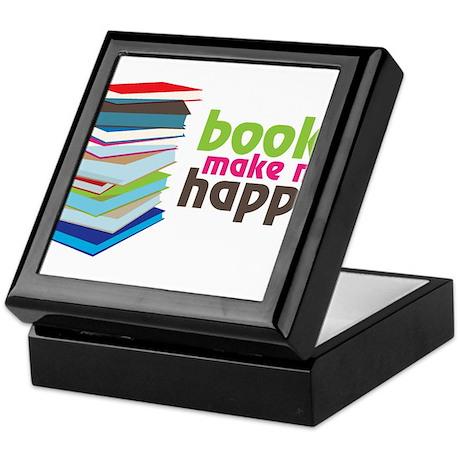 Books Make Me Happy Keepsake Box