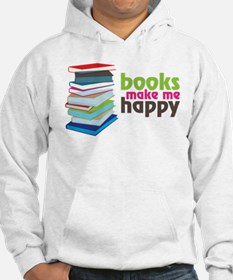Books Make Me Happy Jumper Hoody