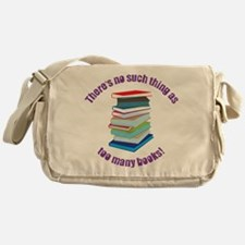 No Such Thing Messenger Bag