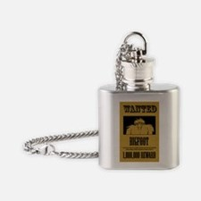 WANTED.png Flask Necklace