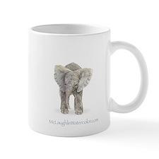 Mother and baby elephant Mug