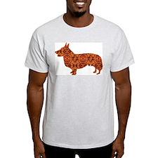 Cardigan Welsh Corgi Ash Grey T-Shirt