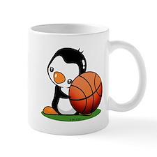Basketball Penguin Mug