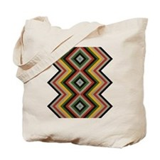Modernized Navajo Pattern Tote Bag