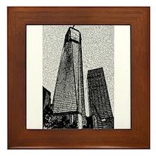 Freedom Tower Framed Tile