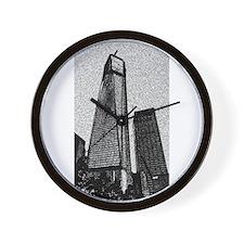 Freedom Tower Wall Clock