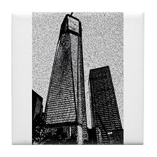 Freedom Tower Tile Coaster