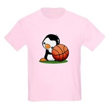 Basketball Penguin T-Shirt