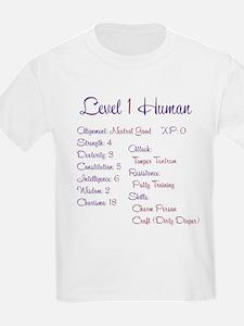 Lvl1Human T-Shirt