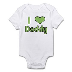 I Love Daddy Infant Bodysuit