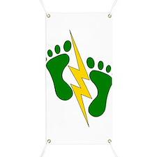 Green Feet 2 - PJ Banner