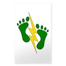 Green Feet 2 - PJ Decal