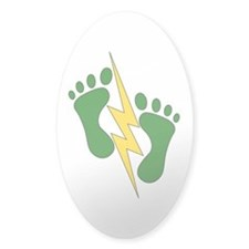 Green Feet 2 - PJ Decal