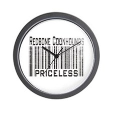 Redbone Coonhounds Wall Clock