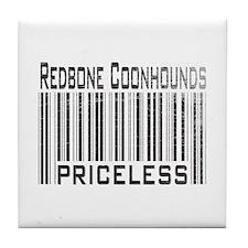 Redbone Coonhounds Tile Coaster