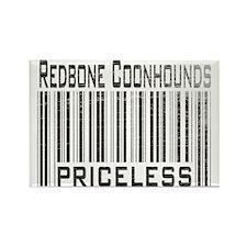 Redbone Coonhounds Rectangle Magnet