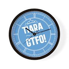 tiara-or-gtfo_cl.png Wall Clock