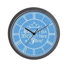 cant-go-tiara_cl.png Wall Clock