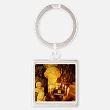 Beethovens Birthday Party Square Keychain