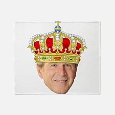 King George III Throw Blanket