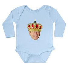 King George III Long Sleeve Infant Bodysuit