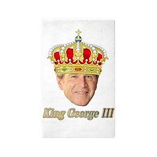 King George III v2 3'x5' Area Rug
