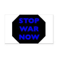 Stop War Now e8 Rectangle Car Magnet