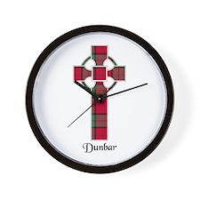 Cross - Dunbar Wall Clock