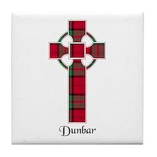 Cross - Dunbar Tile Coaster