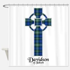 Cross - Davidson of Tulloch Shower Curtain