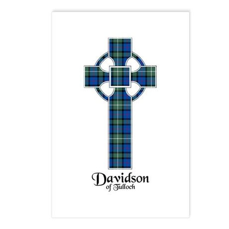 Cross - Davidson of Tulloch Postcards (Package of