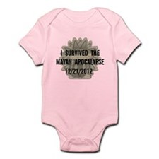 I Survived the Mayan Apocalypse Infant Bodysuit