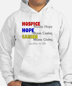 Hospice 2013 hope care red blue.PNG Hoodie