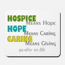 Hospice 2013 hope green blue.PNG Mousepad