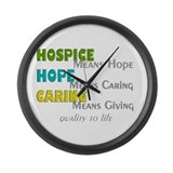 Hospice team Giant Clocks