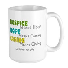 Hospice 2013 hope green blue.PNG Mug