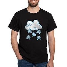 Cute Skull Raincloud T-Shirt