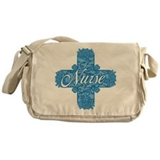 Lacy Blue Nurse Cross Messenger Bag