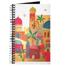 Jerusalem City Colorful Art Journal