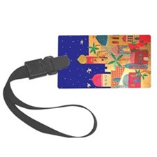 Jerusalem City Colorful Art Luggage Tag
