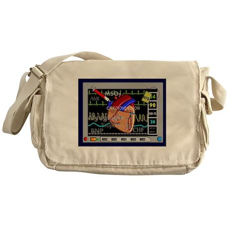 Cardiac Pillow CP.PNG Messenger Bag