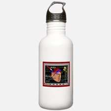cardiac pillow CP red.PNG Water Bottle