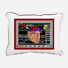 cardiac pillow CP red.PNG Rectangular Canvas Pillo