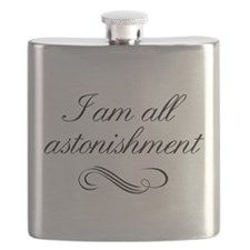 I Am All Astonishment Flask