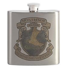 Montresor Coat Of Arms Flask