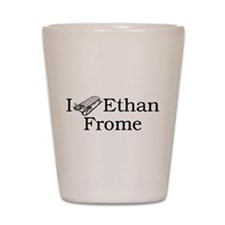 I (Sled) Ethan Frome Shot Glass