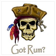 Got Rum? Poster